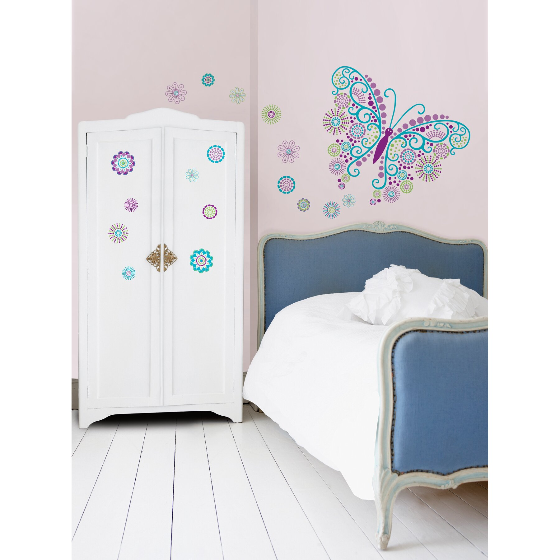 ... Lovely Main Street Wall Creations Stickers Nice Design