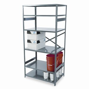 """Commercial 75"""" H 5 Shelf Shelving Unit Starter"""