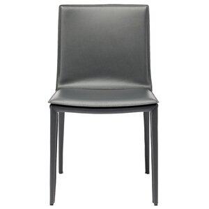 Palma Genuine Leather Upholstered Dining Chair by Nuevo