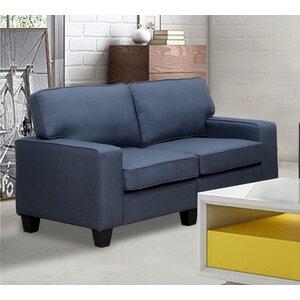 Bittle Modern Living Room Loveseat by Varick Gallery