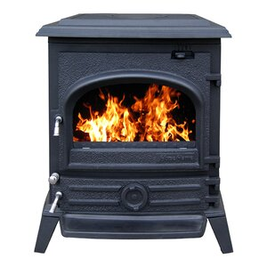 Pony New England 1,500 sq. ft. Direct Vent Wood Stove by Hi-Flame
