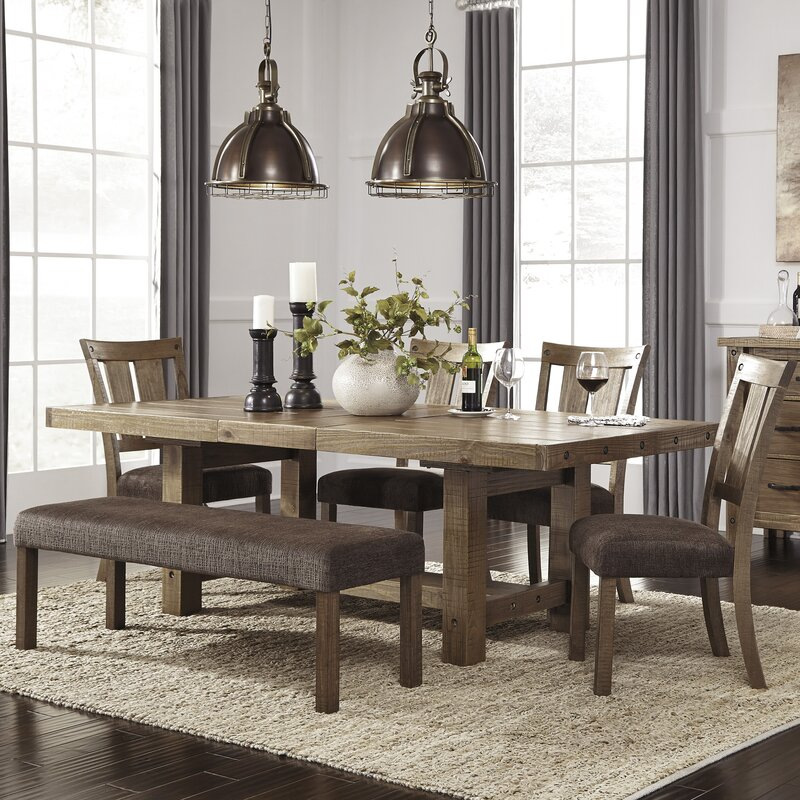 loon peak etolin 6 piece dining set reviews wayfair