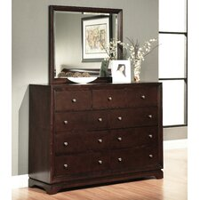 Bolton 9 Drawer Dresser With Mirror by Darby Home Co