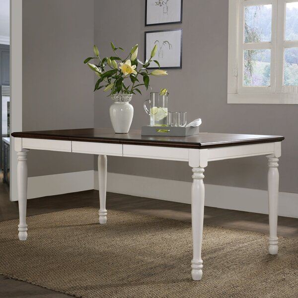 beachcrest home tanner dining table & reviews | wayfair