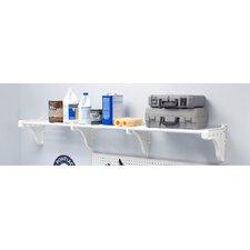 Expandable Garage Kit Wall Shelf by EZ Shelf from Tube Technology