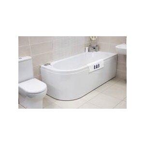 Super Strong Bath and Feet With Panel 165cm x 45cm Standard Soaking Bathtub