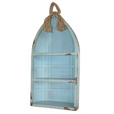 Coastal Canoe 34 Accent Shelves Bookcase by Cheungs