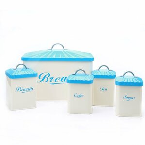 5 Piece Kitchen Canister Set