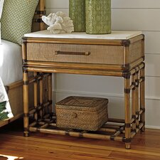 Twin Palms 1 Drawer Nightstand by Tommy Bahama Home