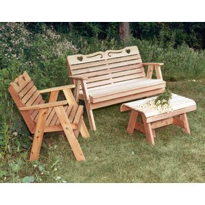 Cedar Furniture And Accessories 3 Piece Seating Group