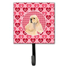 Cocker Spaniel Leash Holder and Wall Hook by Caroline's Treasures