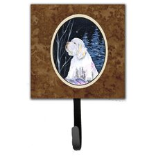 Clumber Spaniel Leash Holder and Wall Hook by Caroline's Treasures