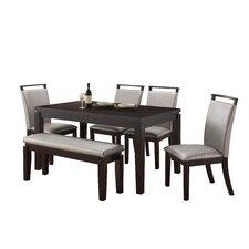 Garett Upholstered Dining Bench by Latitude Run