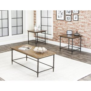 Bethune 3 Piece Coffee Table Set by Loon Peak