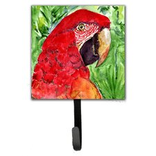 Macaw Leash Holder and Wall Hook by Caroline's Treasures