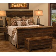 Barnwood Uptown Panel Bed by Fireside Lodge