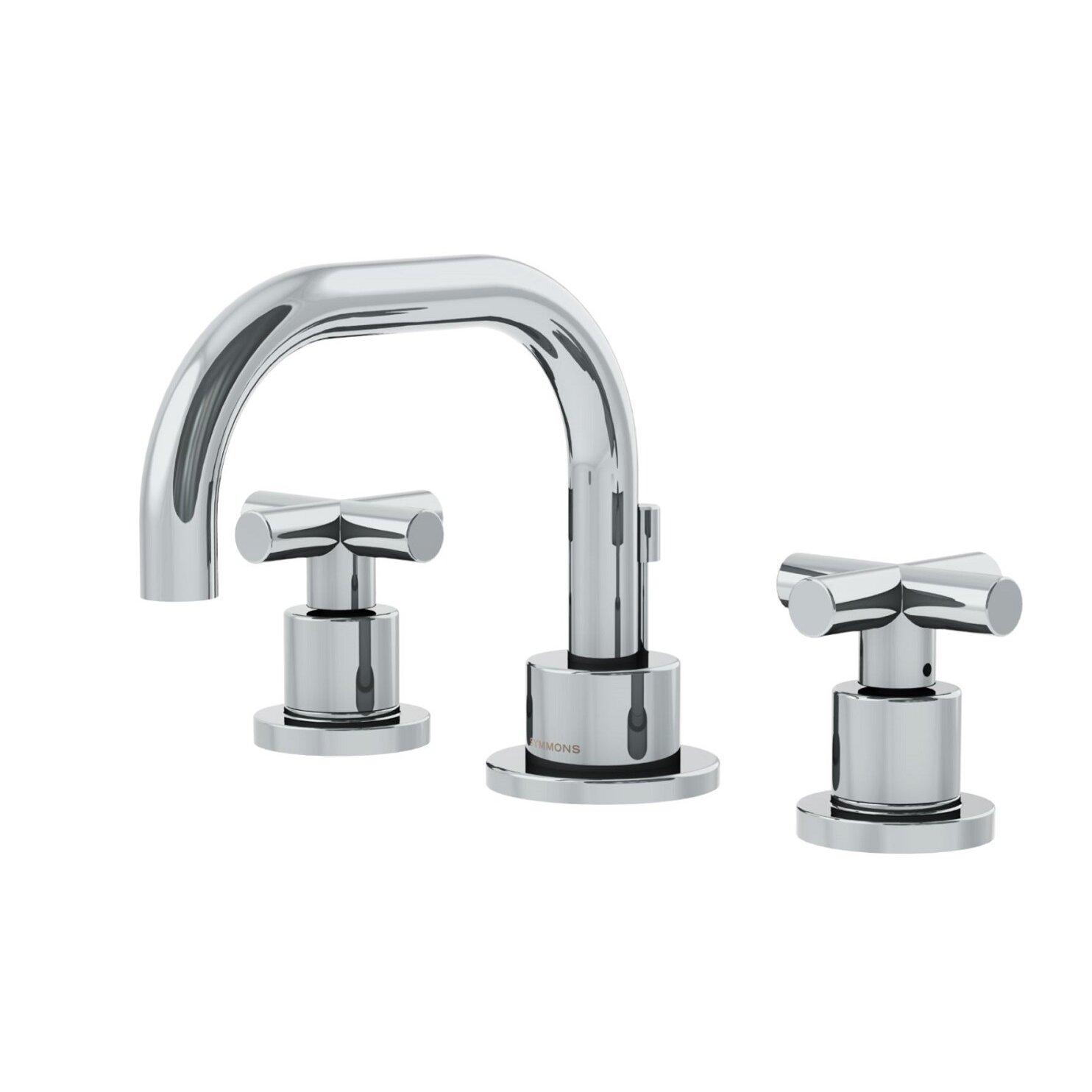 Cross Handle Bathroom Faucet Symmons Dia Low Spout Widespread Standard Bathroom Faucet Double