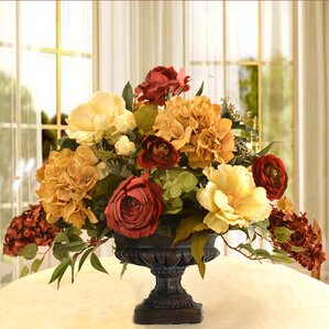 artificial flower arrangements you'll love | wayfair