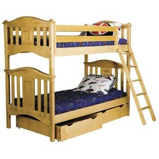 David Twin Over Twin Bunk Bed by Viv + Rae