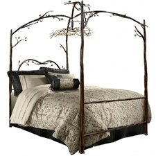 Enchanted Canopy Bed by Stone County Ironworks