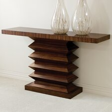 Zig Zag Console Table by Global Views