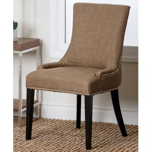 Keziah Nailhead Dining Chair by Darby Home Co