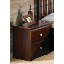 Contempo 2 Drawer Nightstand by Donco Kids