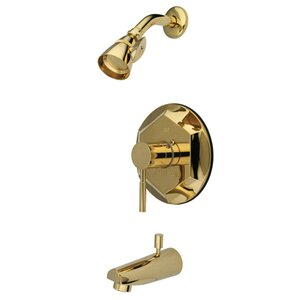 Concord Single Handle Tub and Shower Faucet Kingston Brass