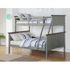 Panel Twin over Full Bunk Bed by Donco Kids