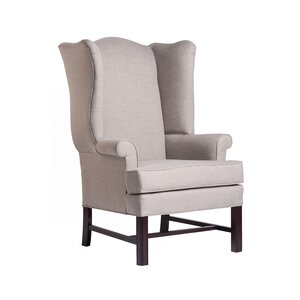 Walsh Chippendale Wingback Chair by Darby Home Co
