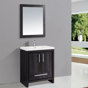 knotty pine bathroom vanity | wayfair