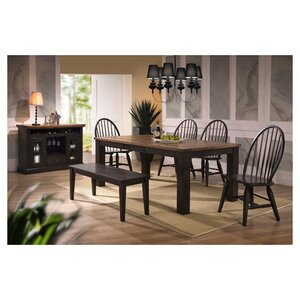 Acacia Solid Wood Dining Chair (Set of 2) by ECI Furniture