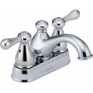 Leland Centerset Bathroom Faucet With Double Lever Handles