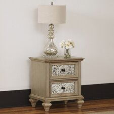 Visions 2 Drawer Nightstand by Home Styles