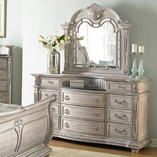 11 Drawer Dresser with Mirror by Astoria Grand
