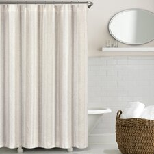 Troyer Washed Belgian Linen Shower Curtain