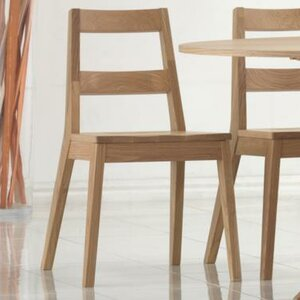 Warden Solid Oak Dining Chair (Set of 2)