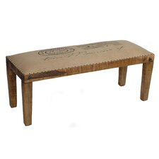 Aiken Wood Entryway Bench by World Menagerie