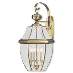 Gustavson 2 Light Outdoor Wall Lantern