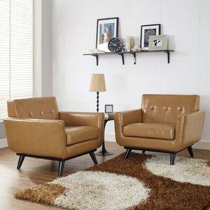 Saginaw Club Chair (Set of 2) by Corrigan Studio