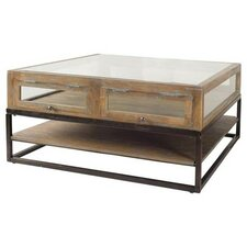 Landis Brown Coffee Table by Ivy Bronx