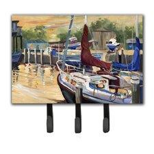 New Sunset Bay Sailboat Key Holder by Caroline's Treasures