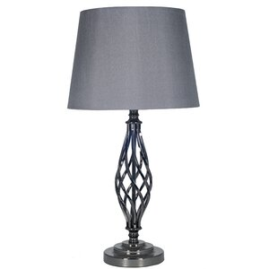 Jenna Metal Twist 58cm Table Lamp