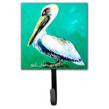 Pelican Lightin Up Leash Holder and Wall Hook by Caroline's Treasures