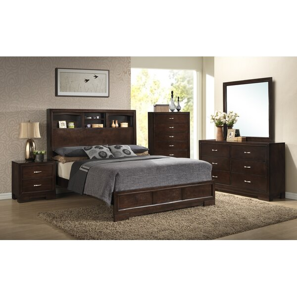 Brayden Studio Voigt Panel 5 Piece Bedroom Set & Reviews | Wayfair