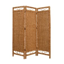 72 x 60 Palm Cascading 3 Panel Room Divider by Screen Gems