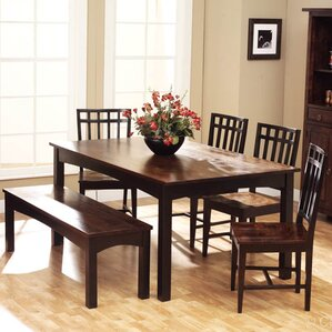 6 Seat Espresso Kitchen Dining Tables Youll Love Wayfair
