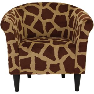 Ronda Contemporary Upholstered Barrel Chair by Bloomsbury Market