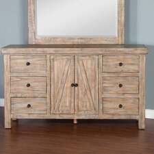 Herman 6 Drawer Standard Dresser by Loon Peak