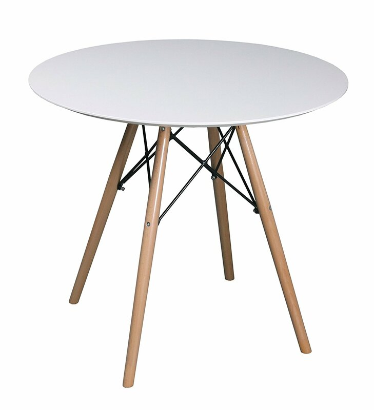 hokku designs como round dining table & reviews | wayfair.co.uk